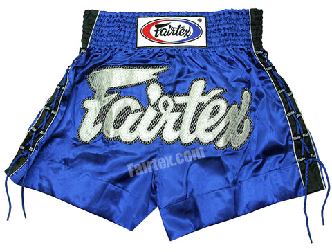 Fairtex Blue Lace Muay Thai Shorts BS0603
