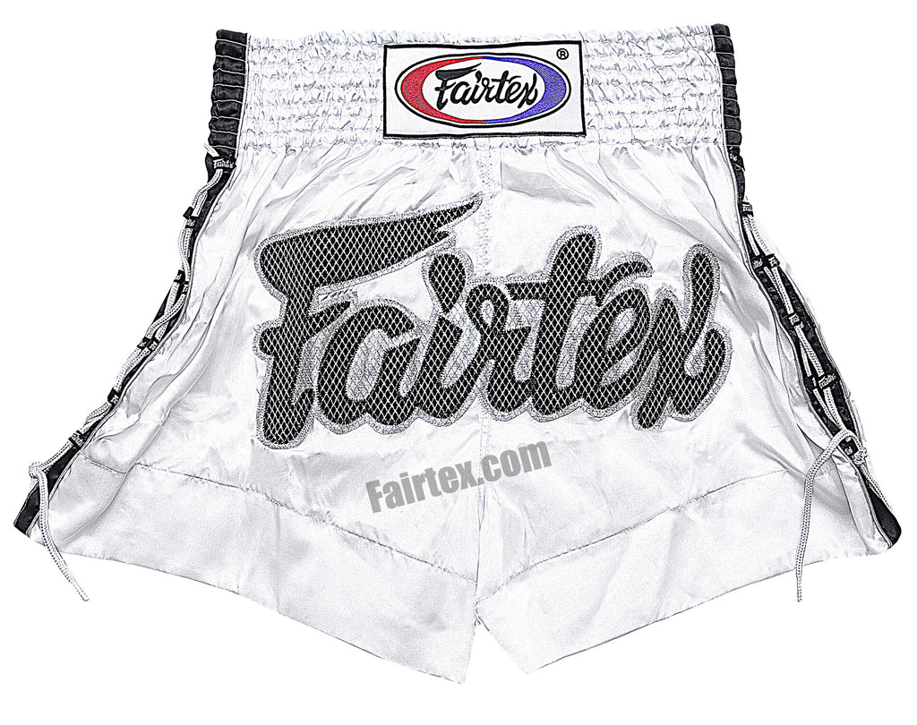 Fairtex White Lace Muay Thai Shorts BS0604