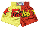 Fairtex Shorts Limited Collection Patriot Yellow/Red