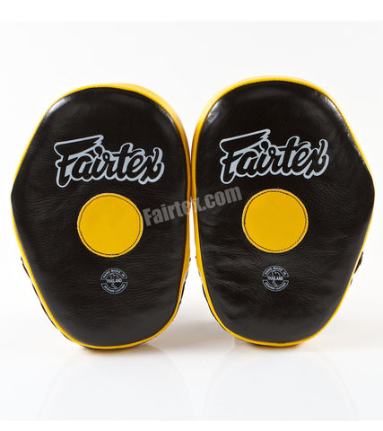 Classic Pro Focus Mitts - Black/Yellow