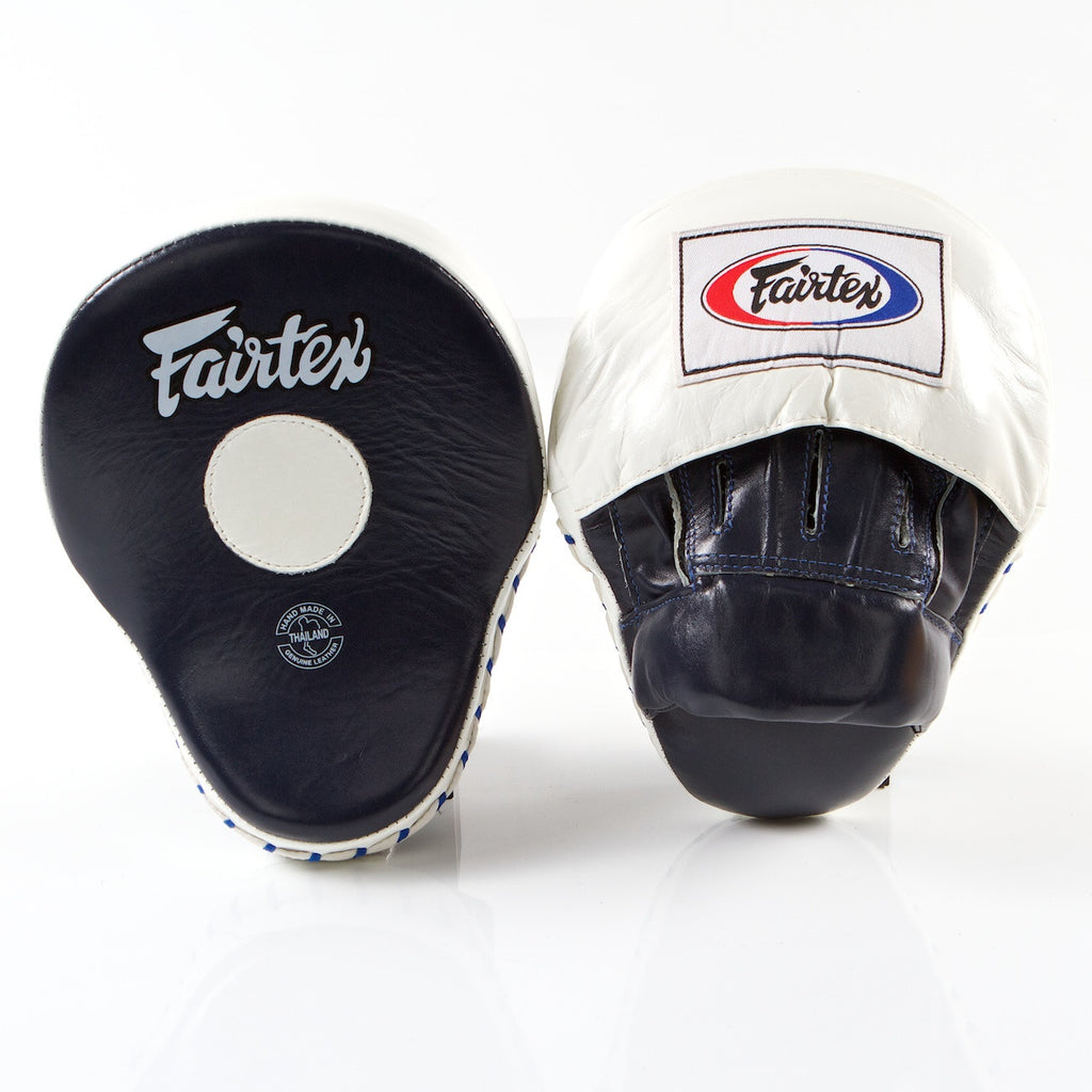 Ultimate Contoured Focus Mitts - Blue/White