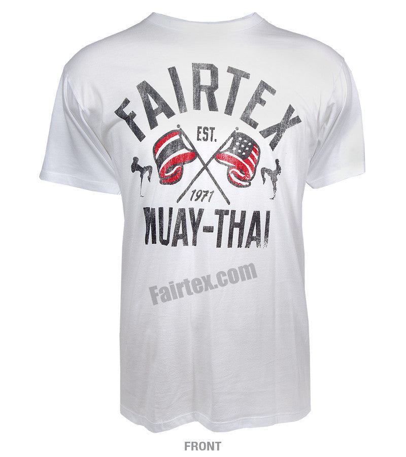 Fairtex Flag T-Shirt White