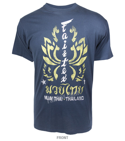 Fairtex Lotus T-Shirt Navy