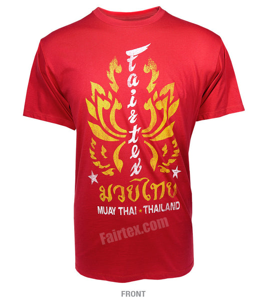 Fairtex Lotus T-Shirt Red