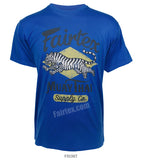 Fairtex Tiger T-Shirt Royal