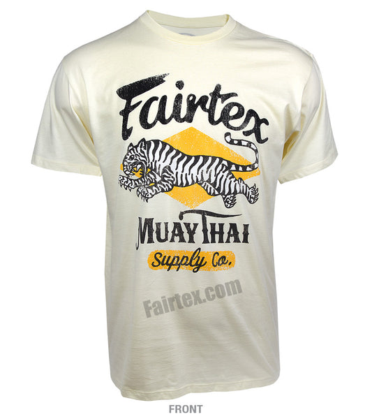 Fairtex Tiger T-Shirt Vanilla