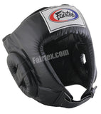Competition Open Head Guard - Black