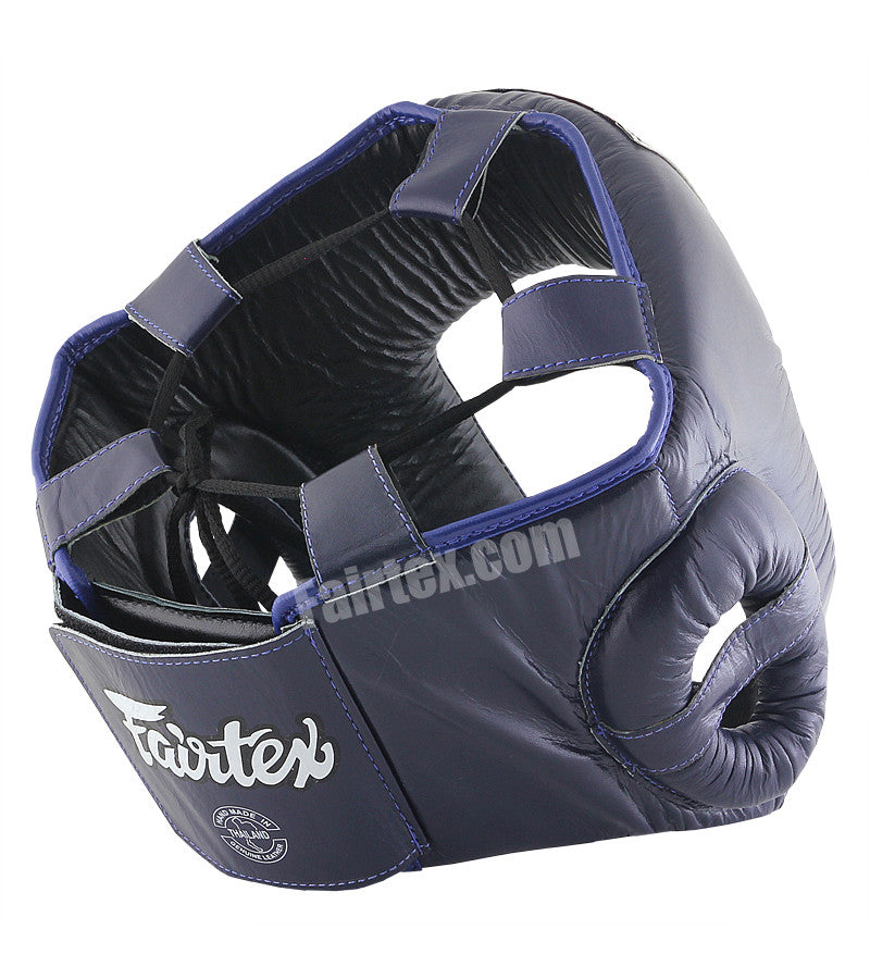 Competition Open Head Guard - Blue