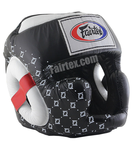 Super Sparring Head Guard - Black