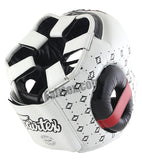 Super Sparring Head Guard - White