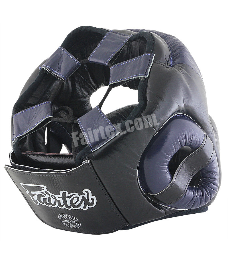 Extra Vision Head Guard - Black/Blue