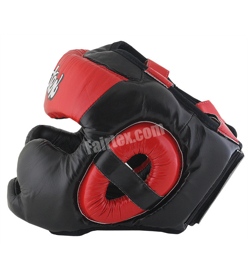 Extra Vision Head Guard - Black/Red