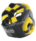 Extra Vision Head Guard - Black/Yellow