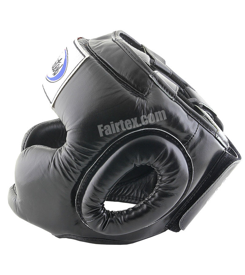 Youth Full Coverage Style Head Guard - Black