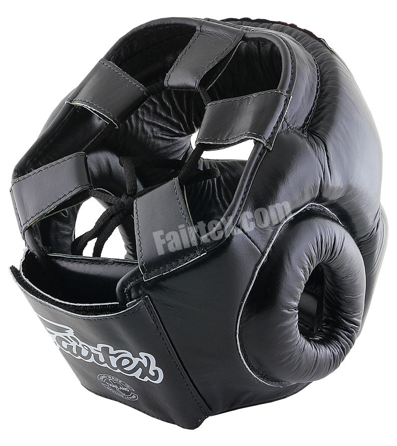 Full Coverage Style Head Guard - Black