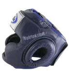 Youth Full Coverage Style Head Guard - Blue