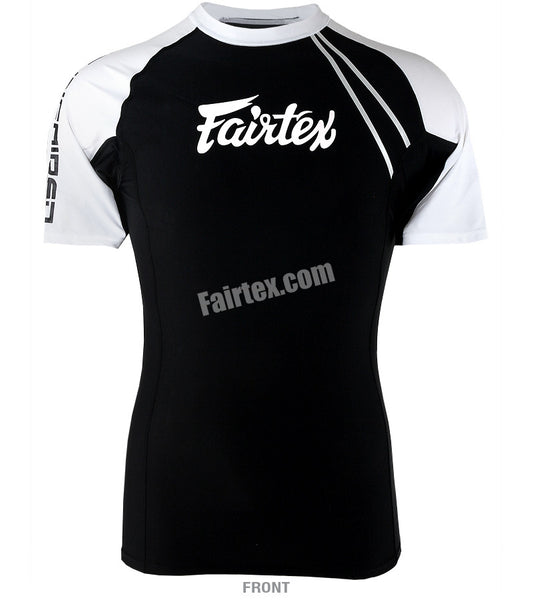 Fairtex Black Short Sleeve Rash Guard