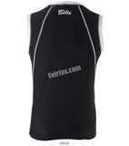 Fairtex Black Sleeveless Rash Guard