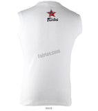 Fairtex Be Inspired Sleeveless White Shirt