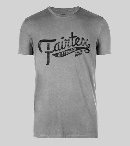 Fairtex Banner T Shirt - Gray