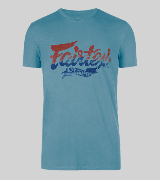 Fairtex Flag Tee - Blue