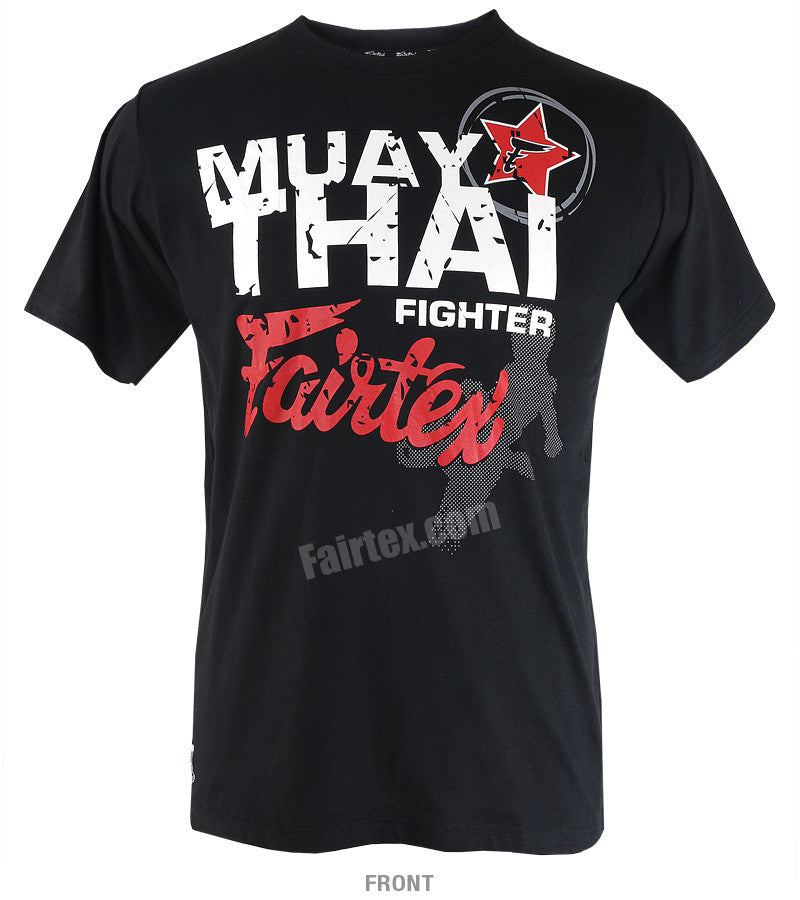 Fairtex Muay Thai Fighter Black T Shirt
