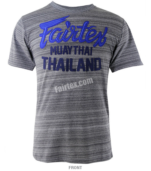Fairtex Grey Muay Thai Thailand T Shirt