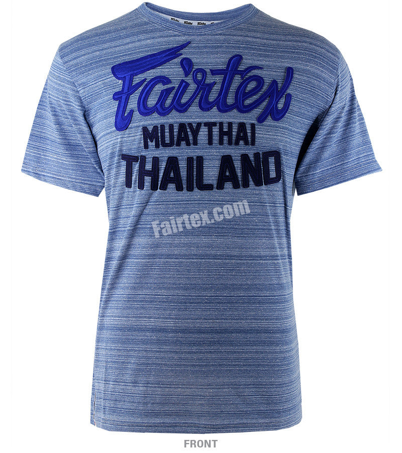 Fairtex Blue Muay Thai Thailand T Shirt