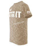 Fairtex Beige Don't Wish for it Work for it T Shirt