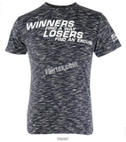 Fairtex Black Winners find a way and Losers find an Excuse T Shirt TST77