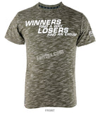 Fairtex Green Winners find a way and Losers find an Excuse T Shirt TST77