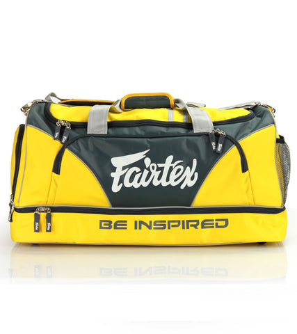 BAG2 Fairtex Gym Bag - Yellow