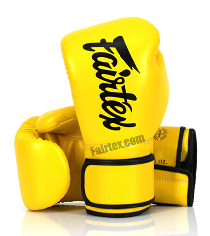 Fairfax Muay Thai Gloves Yellow