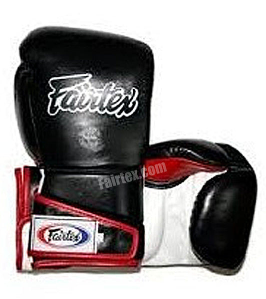 Angular Sparring Boxing Gloves - Black/White/Red