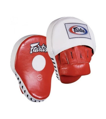 Ultimate Contoured Focus Mitts - Red/White