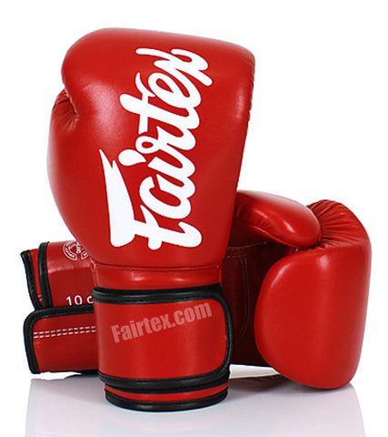 Fairfax Muay Thai Gloves Red