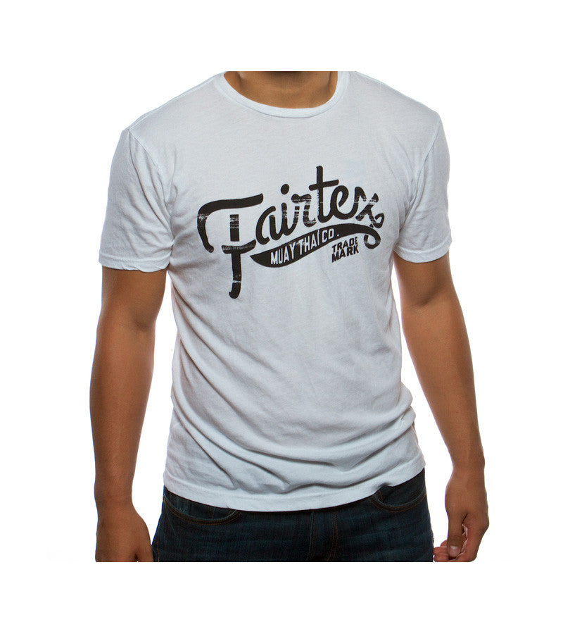 Fairtex Banner Tee - White