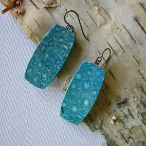 Water Droplets Drop Earrings