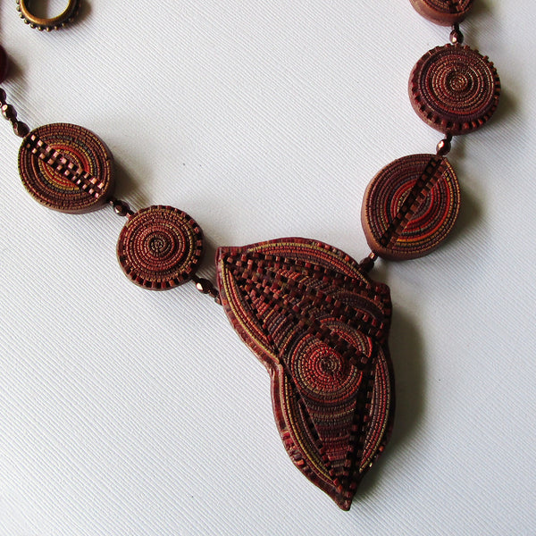 Merlot Moment Statement Necklace