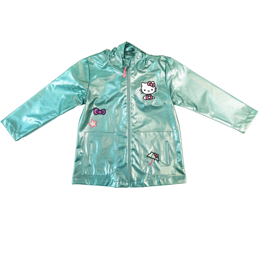 IMPERMEABLE HELLO KITTY AQUA