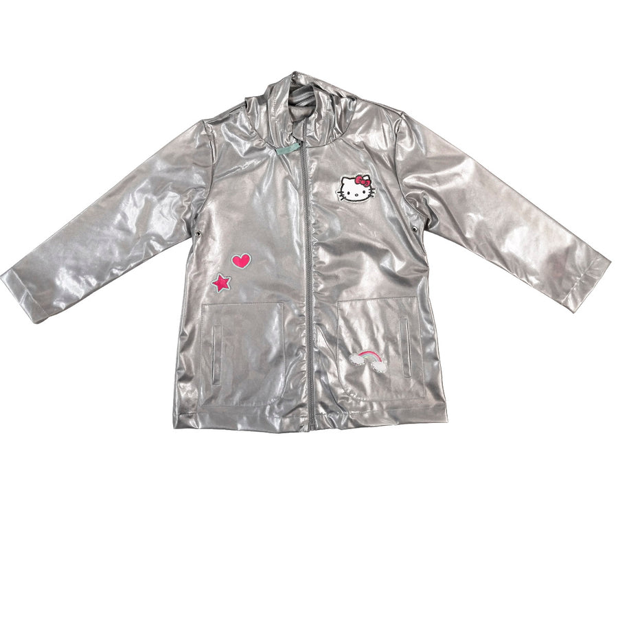 IMPERMEABLE HELLO KITTY PLATA