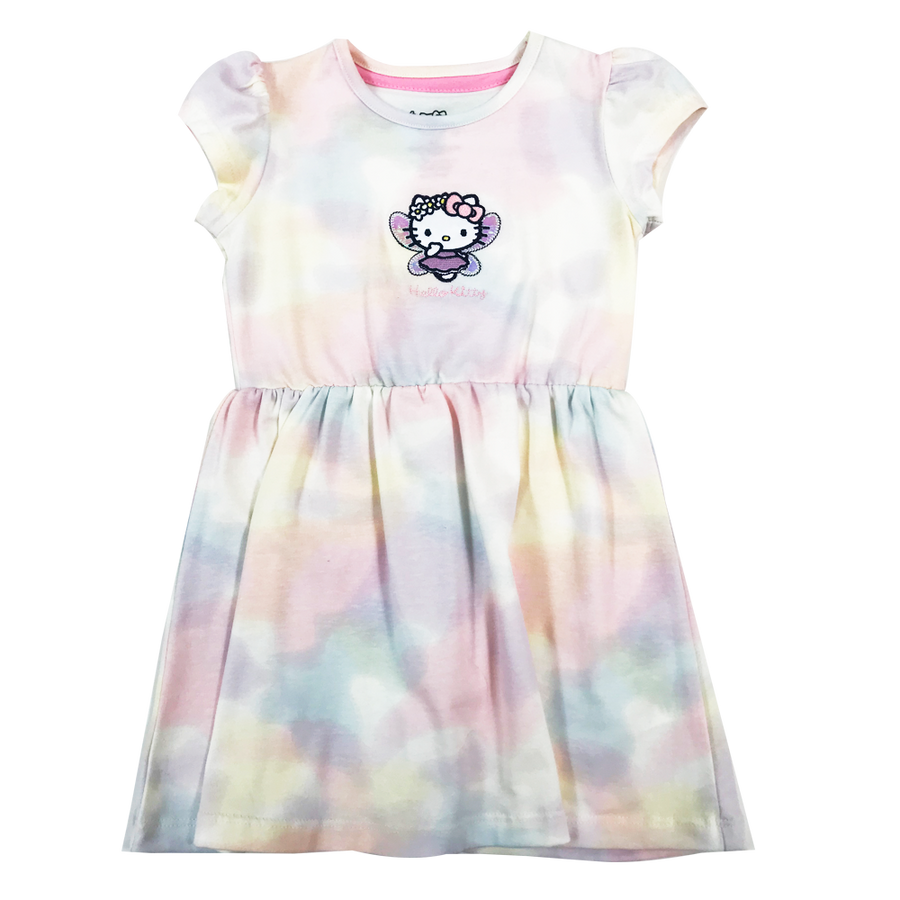 VESTIDO BORDADO HELLO KITTY