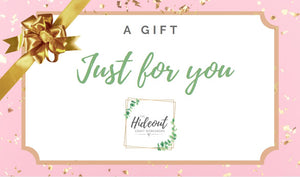 The Hideout Gift Card