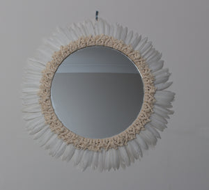 Feather Mirror
