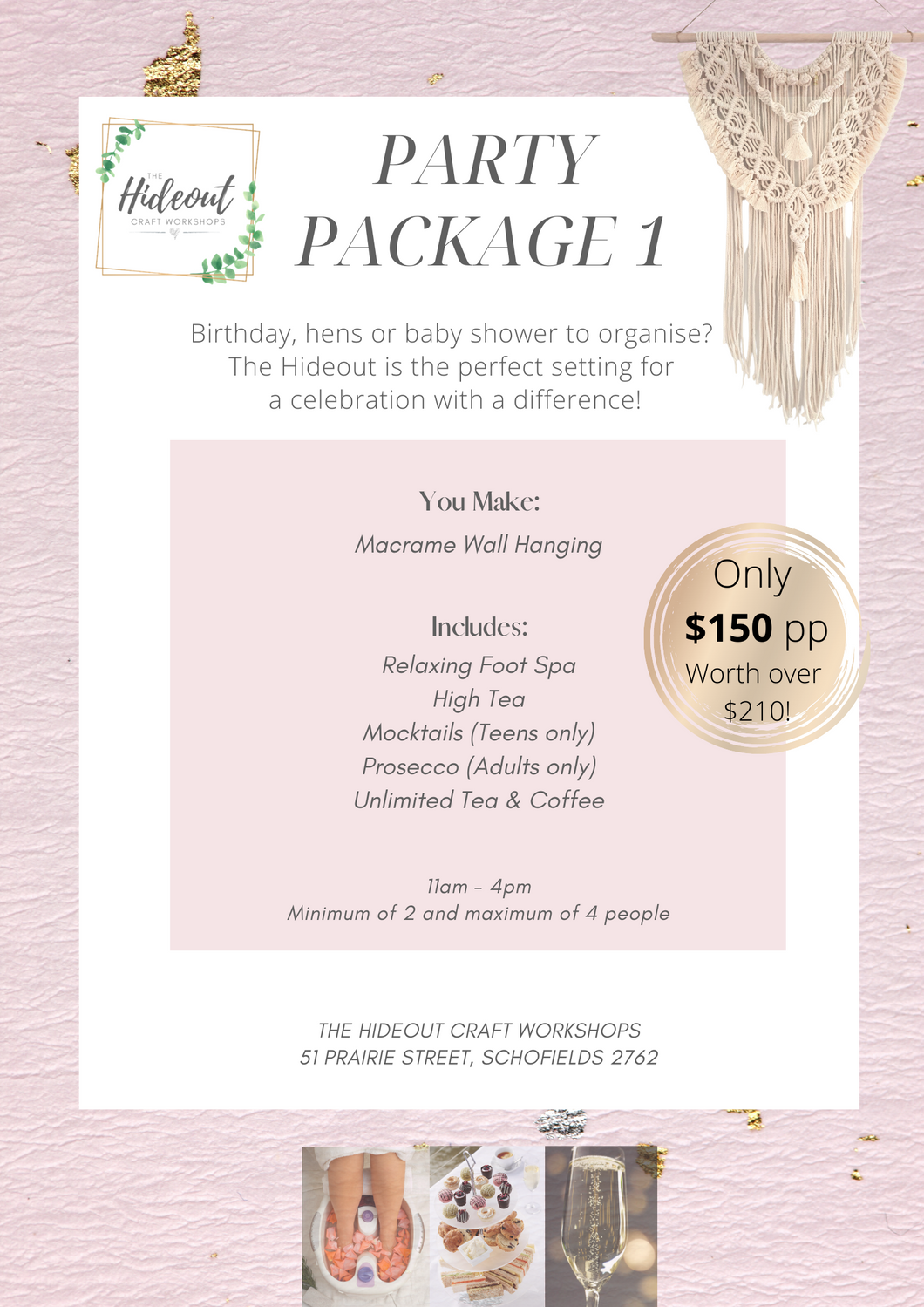 Party Package 1