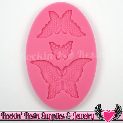 Butterfly SILICONE MOLD, Food Grade, Flexible - Rockin Resin  - 1