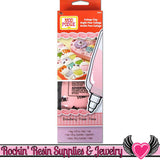 Mod Podge Collage Clay Strawberry Pink DECODEN Fake WHIPPED CREAM 4.23oz - Rockin Resin  - 4