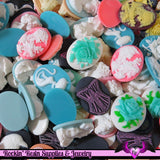 Priority Box Full of 30x40mm Flatback Resin Cameo Seconds - Rockin Resin  - 4