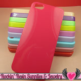 Iphone 5 Shell Cellphone Case for Decoden - Rockin Resin  - 1