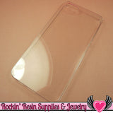 Clear Iphone 5 Cellphone Case for Decoden - Rockin Resin  - 1
